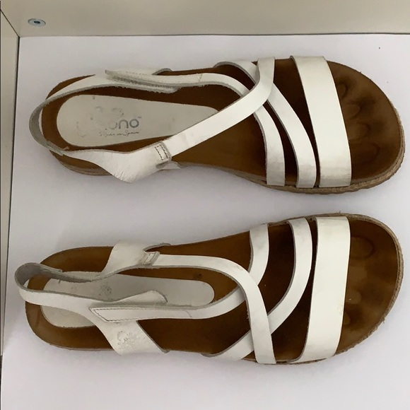 WHITE SANDALS MADE IN SPAIN